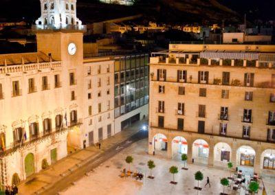 Plazas de la ciudad de Alicante