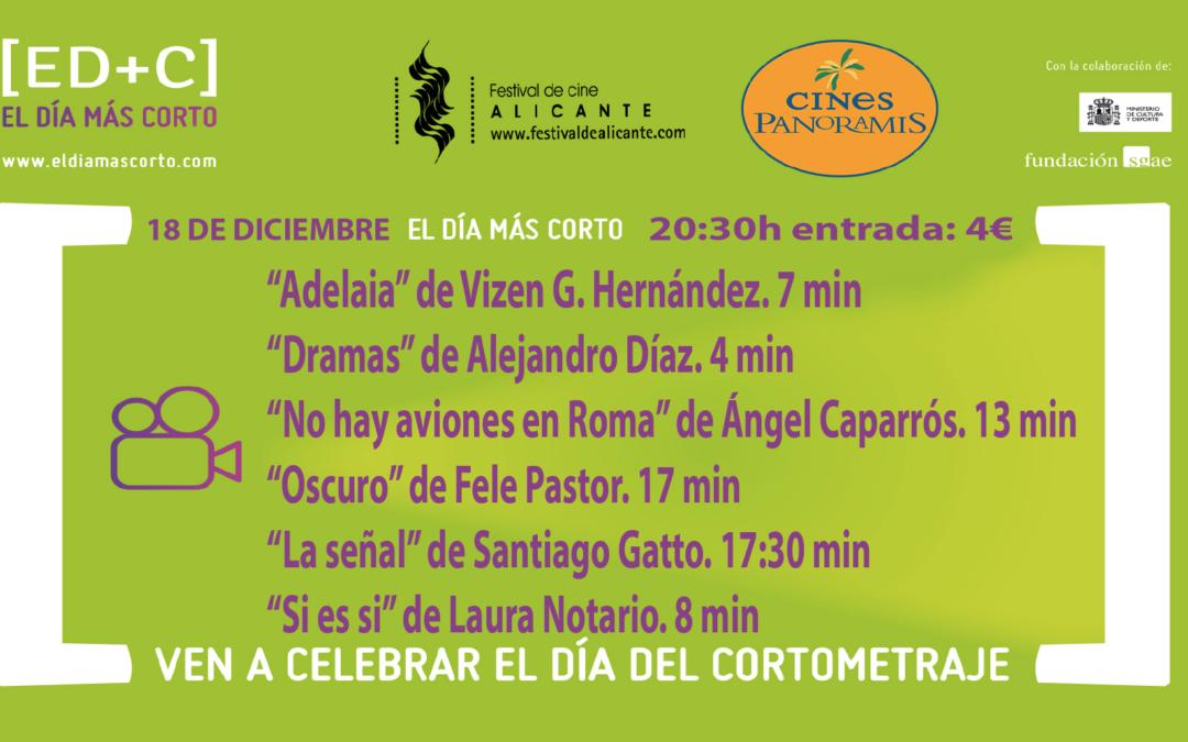"""El Festival de Cine de Alicante acoge por séptimo año la celebración de """"El día más corto""""."""