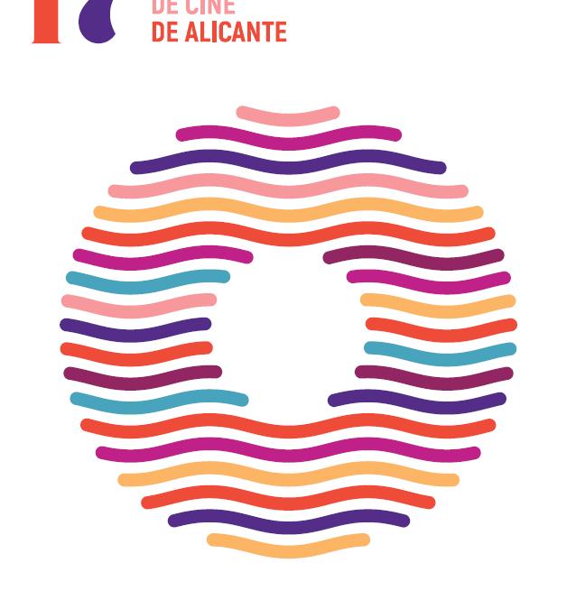 El mar, un ojo observador y el paseo de la Explanada inspiran el cartel de la 17ª edición del Festival de Cine de Alicante