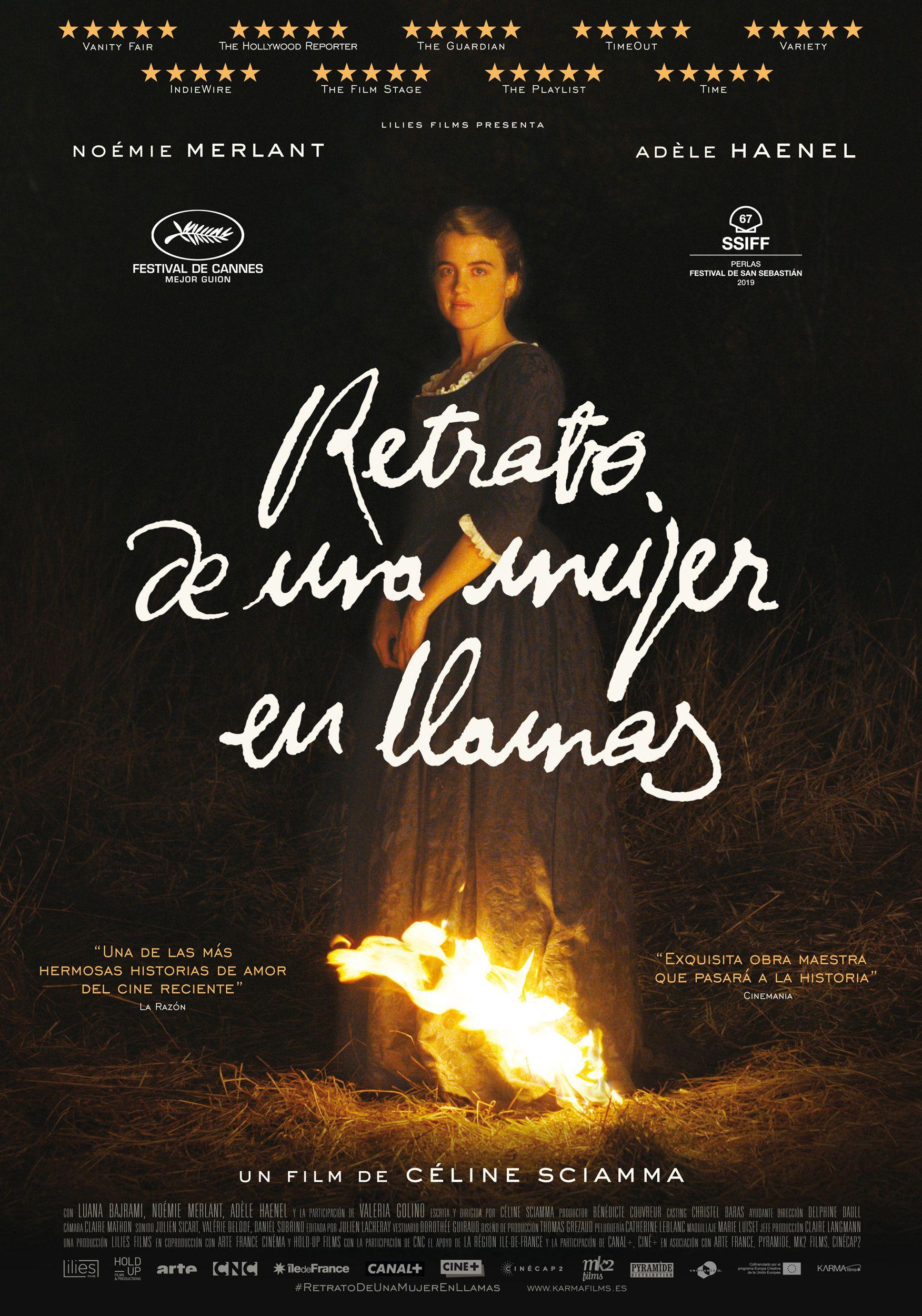 festival de cine alicante mujer en llamas