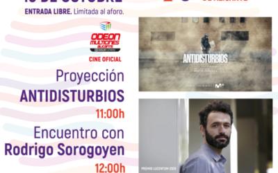 Rodrigo Sorogoyen ofrecerá un encuentro con el público en el Festival de Cine de Alicante